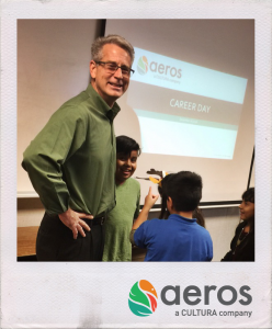 Aeros Does Career Day